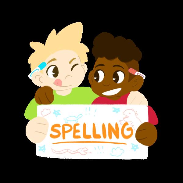 learning spelling